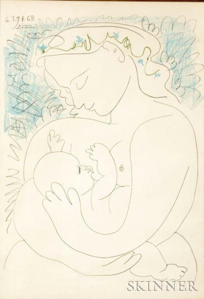 Pablo Picasso (Spanish, 1881-1973) Maternite | Sale Number 2367, Lot ...