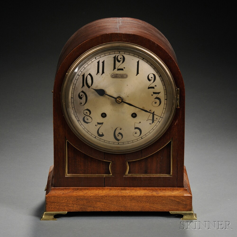 German Quarter-striking Bracket Clock