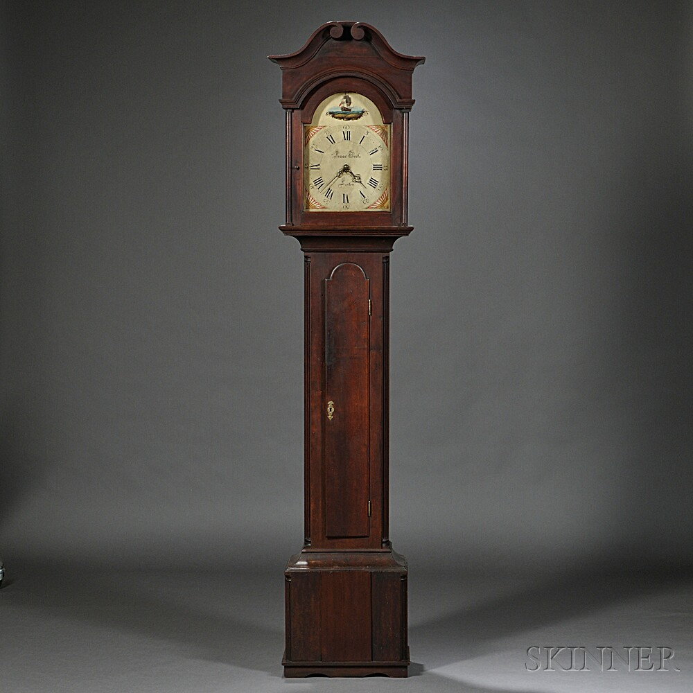 Isaac Grotz Cherry Tall Clock