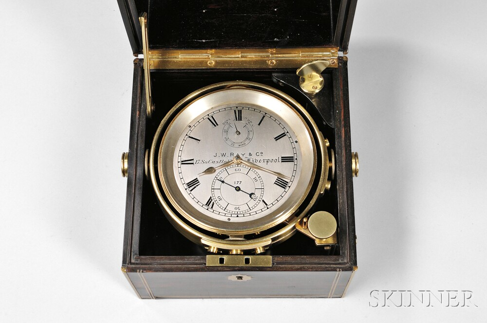 J.W. Ray Two-day Chronometer