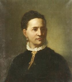 American School, 19th Century  Portrait of a Lady.