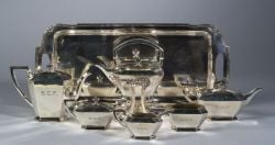 Durgin Sterling Six PieceTea and Coffee Service