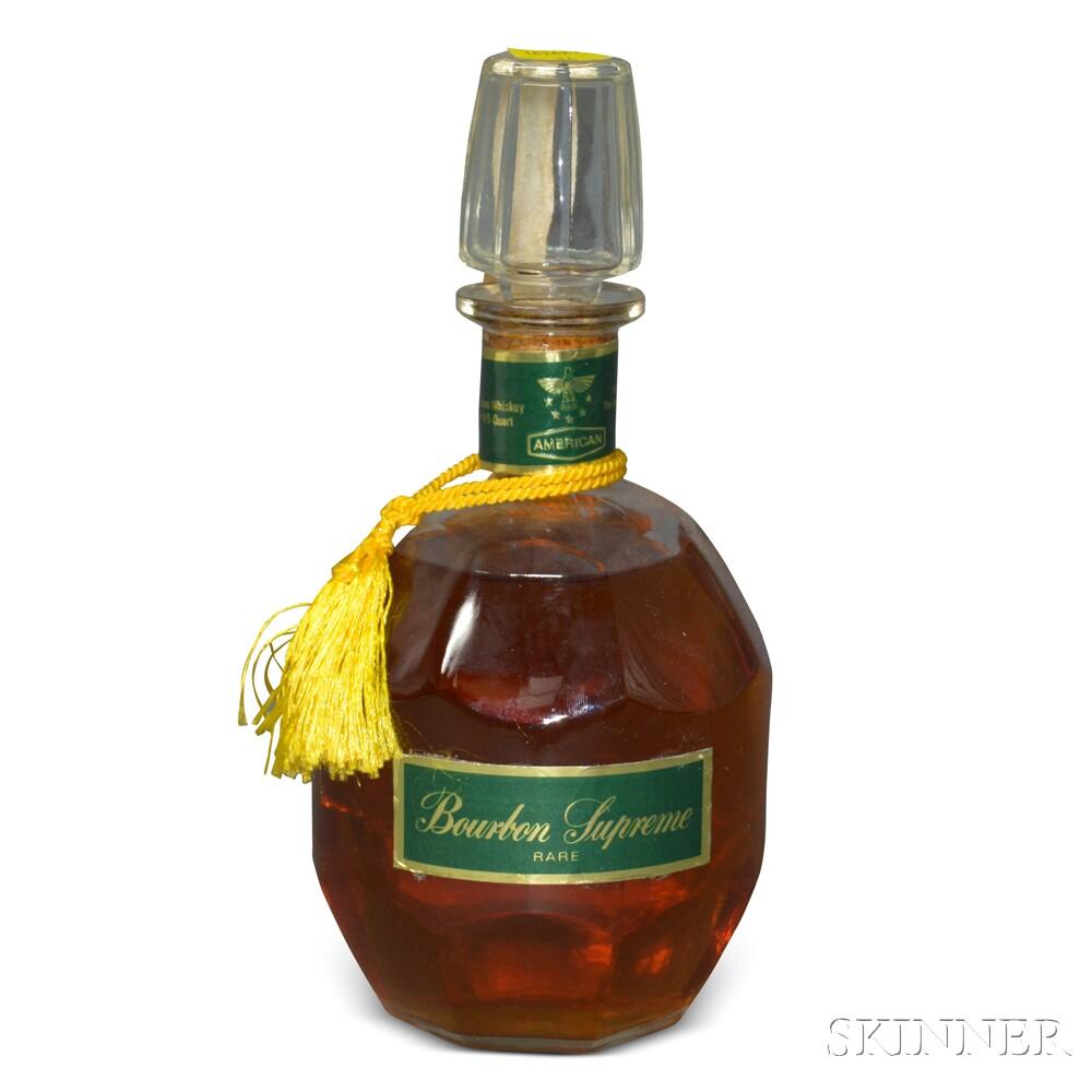 American Bourbon Supreme Rare, 1 4/5 quart bottle