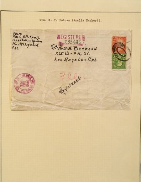 Earhart, Amelia (1897-1937)