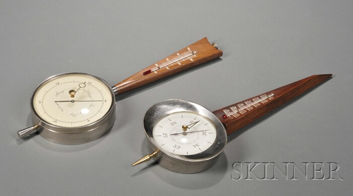 Two Wall Barometers