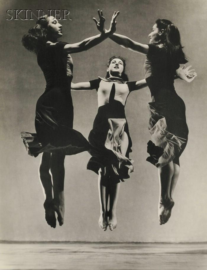 Barbara Morgan (American, 1900-1992)      Martha Graham Celebration (Trio)