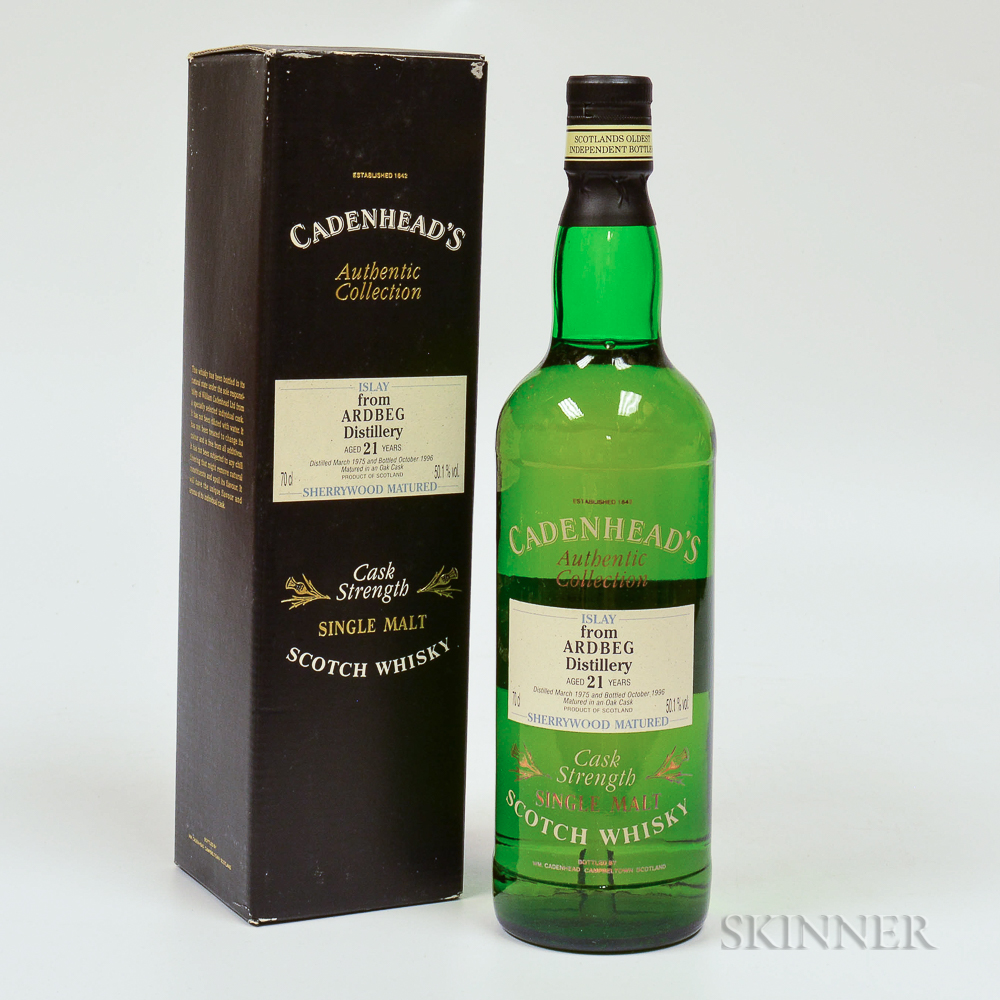 Ardbeg 21 Years Old 1975, 1 70cl bottle (oc)