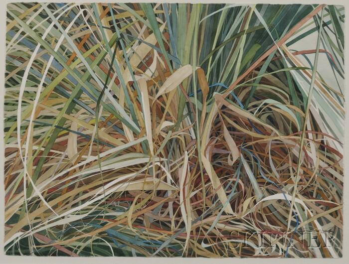 Karen Jacobs (American, 20th/21st Century)      Pampas Series, No. 26