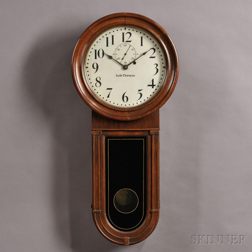 Seth Thomas Regulator No 1 Quot Keyhole Quot Wall Clock Sale