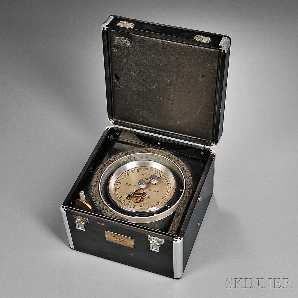 M. Low Two-day Break-circuit Marine Chronometer