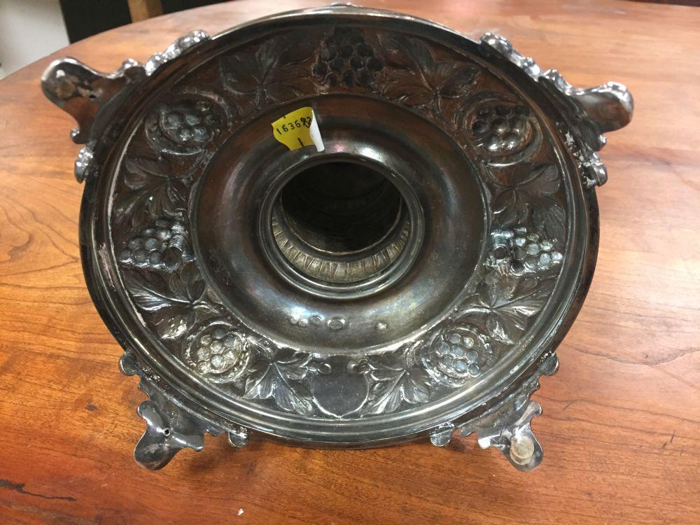 Polish Silver Convertible Hanukkah Lamp
