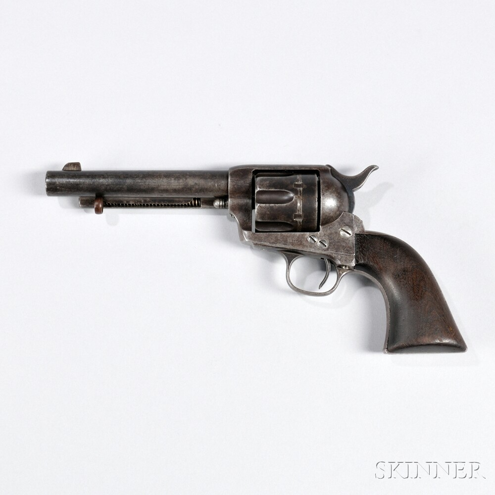 Martially Marked Colt Single-action Army Revolver