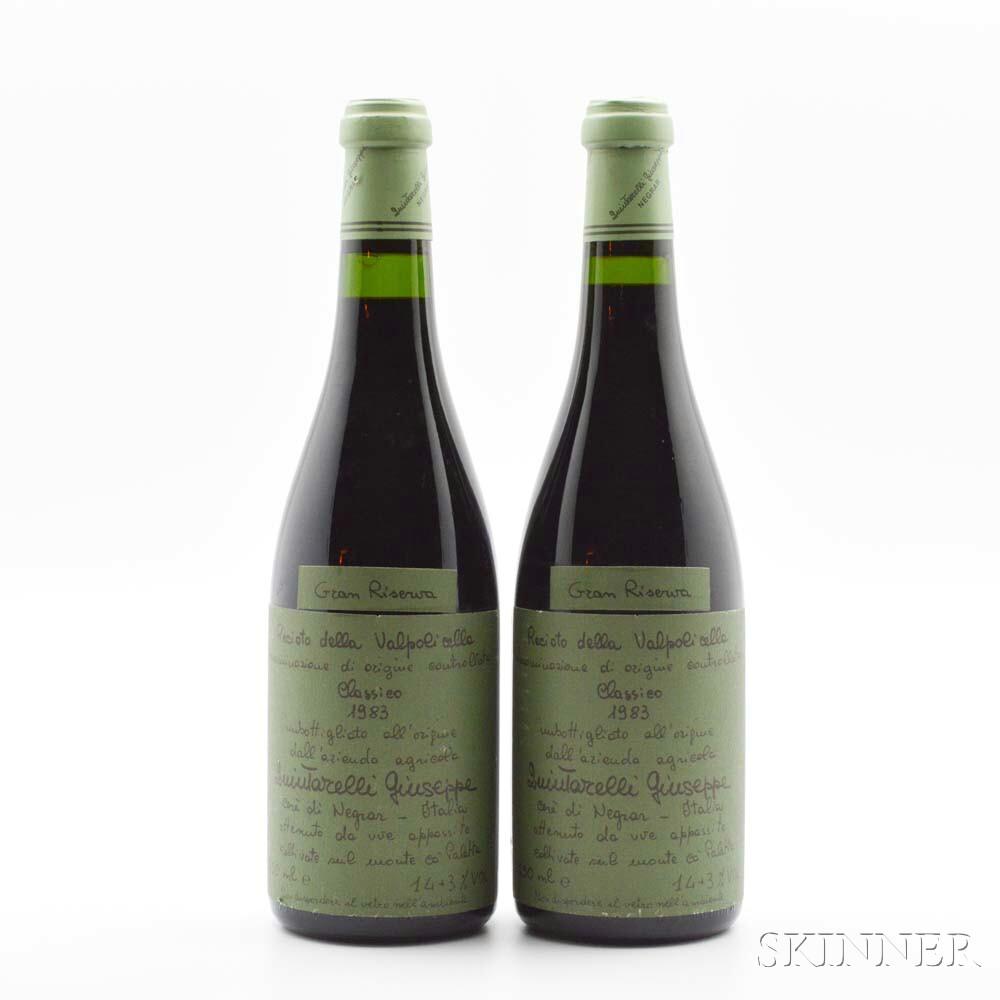 Quintarelli Recioto della Valpolicella Gran Riserva 1983, 2 bottles