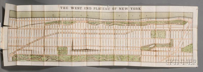 (North America, New York), Two folding maps