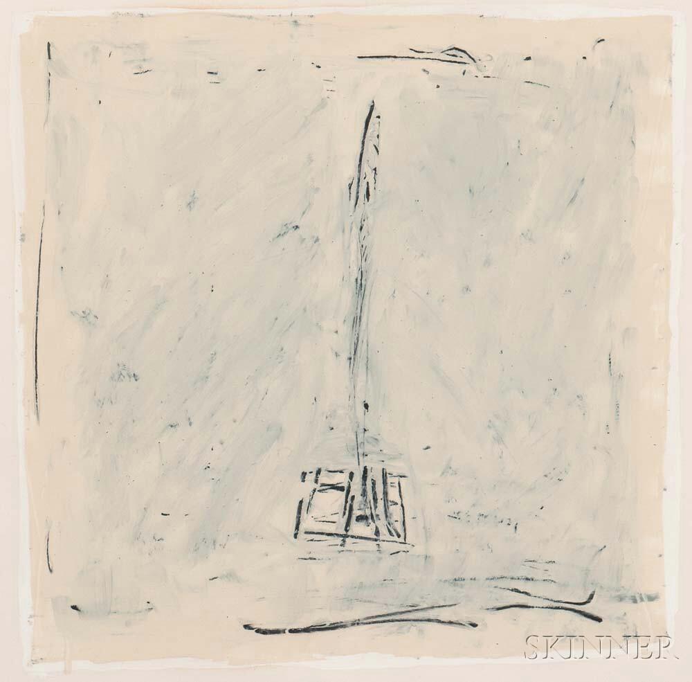 Jake Berthot (American, 1939-2015)      January White Group #1