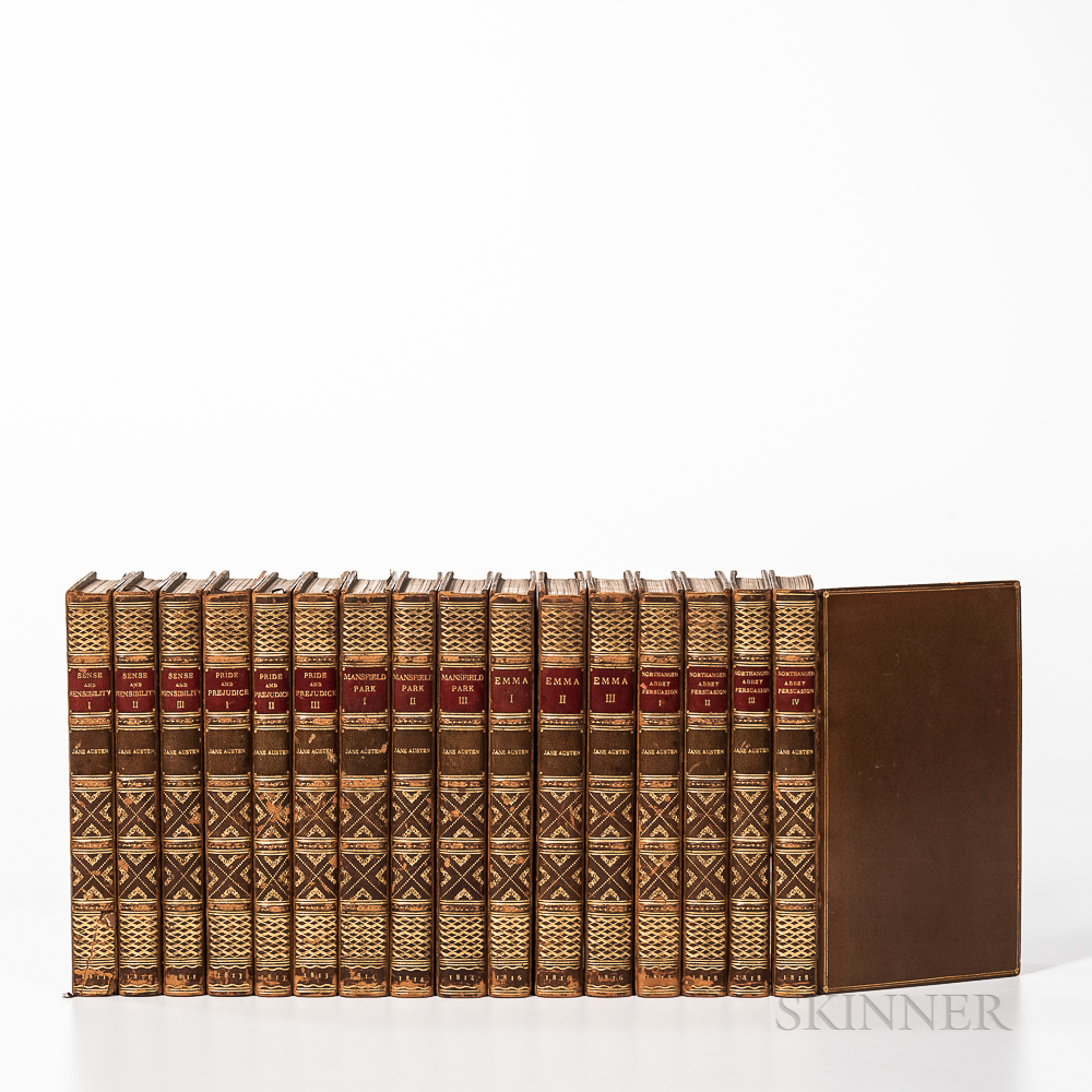 Austen, Jane (1775-1817) Rare Set of Five First Edition Works.
