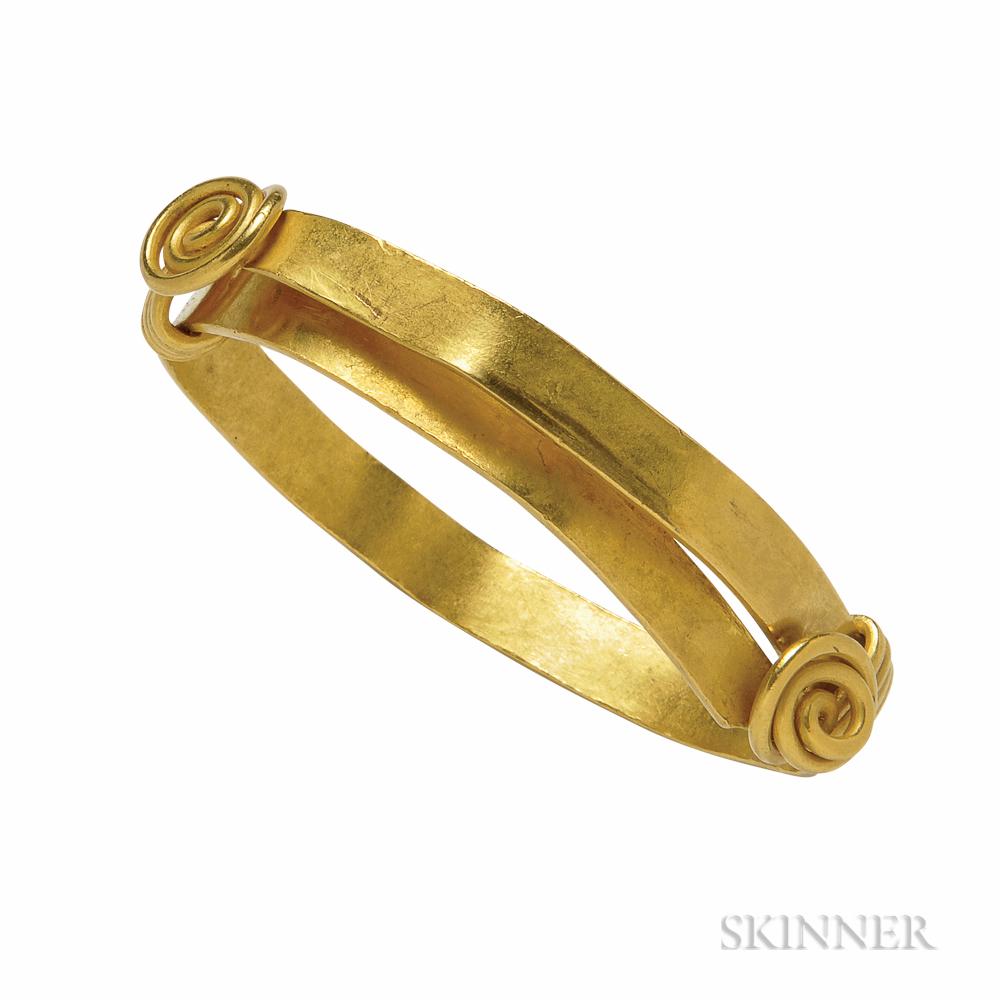 Roman Gold Bracelet
