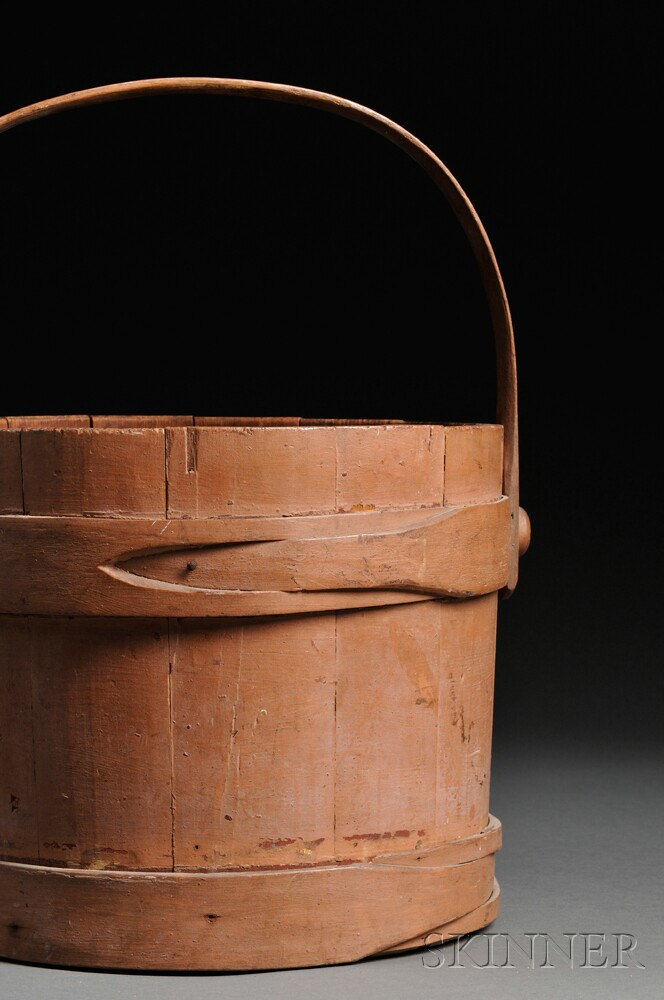 Shaker Painted Wooden Pail
