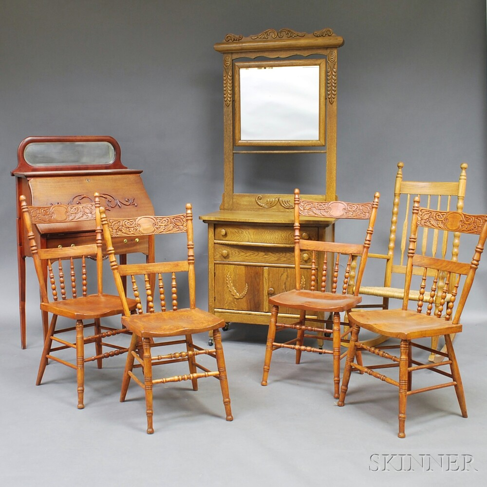 Seven Pieces of Furniture