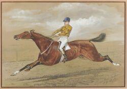 Lynwood Palmer (British, 1868-1941)  The Jockey