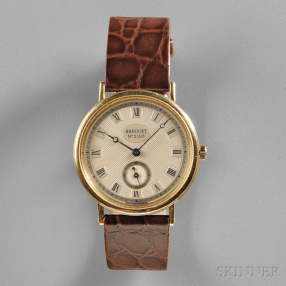 Breguet Classique 3910 Yellow Gold Wristwatch