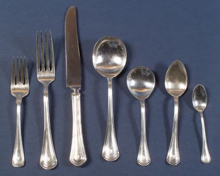 "Frank W. Smith Sterling ""Mayflower"" Flatware Service"