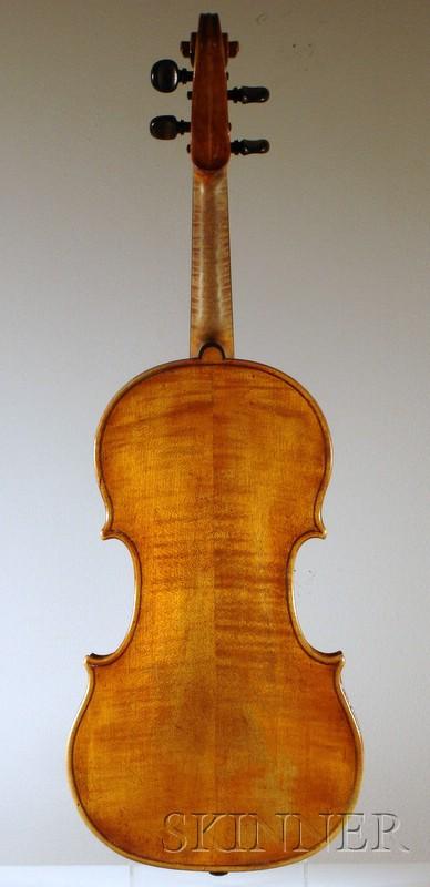 Italian Violin, Nicola Gagliano, Naples, c. 1735