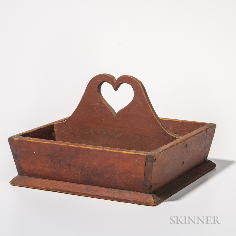 Red-stained Cutlery Box