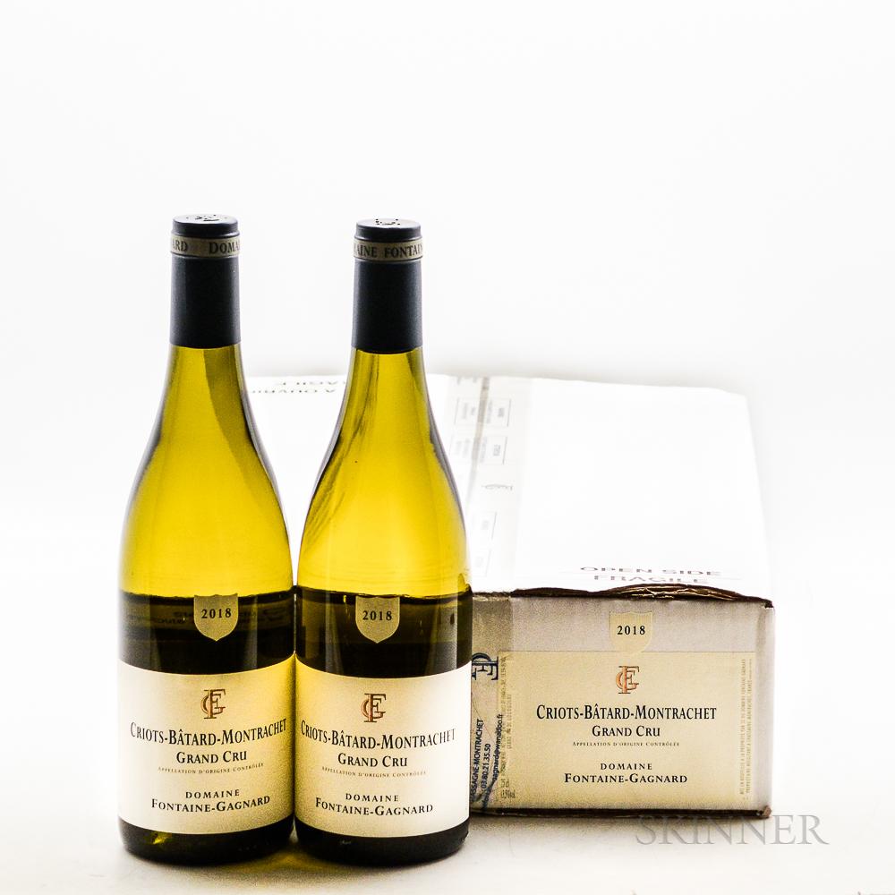 Fontaine Gagnard Criots Batard Montrachet 2018, 6 bottles (oc)
