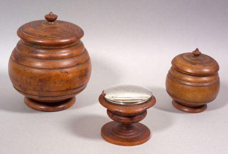 Three Treen Items