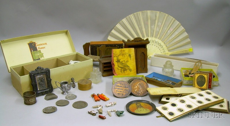 Group of Assorted Dollhouse and Collectible Items