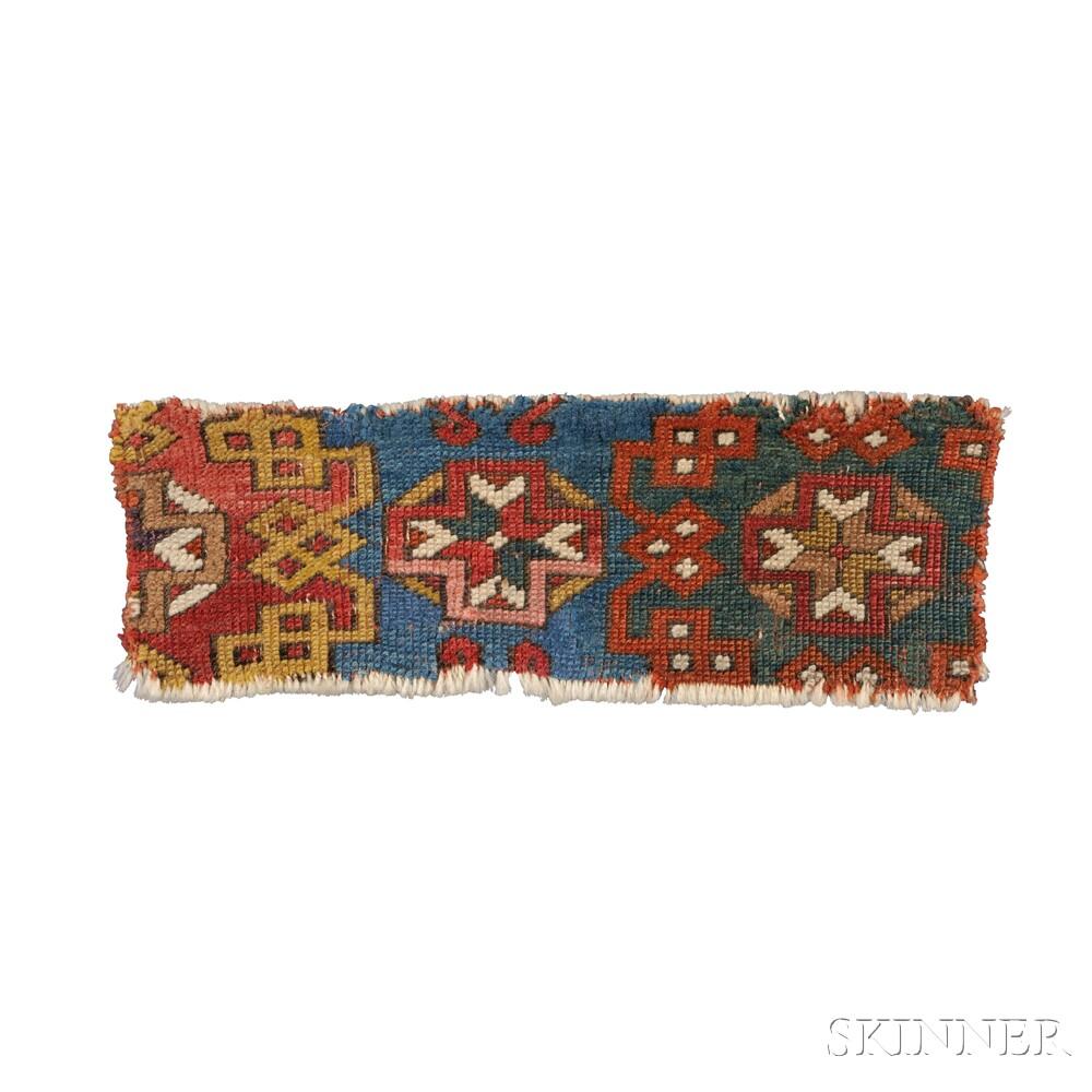 Three Turkish Rug Fragments