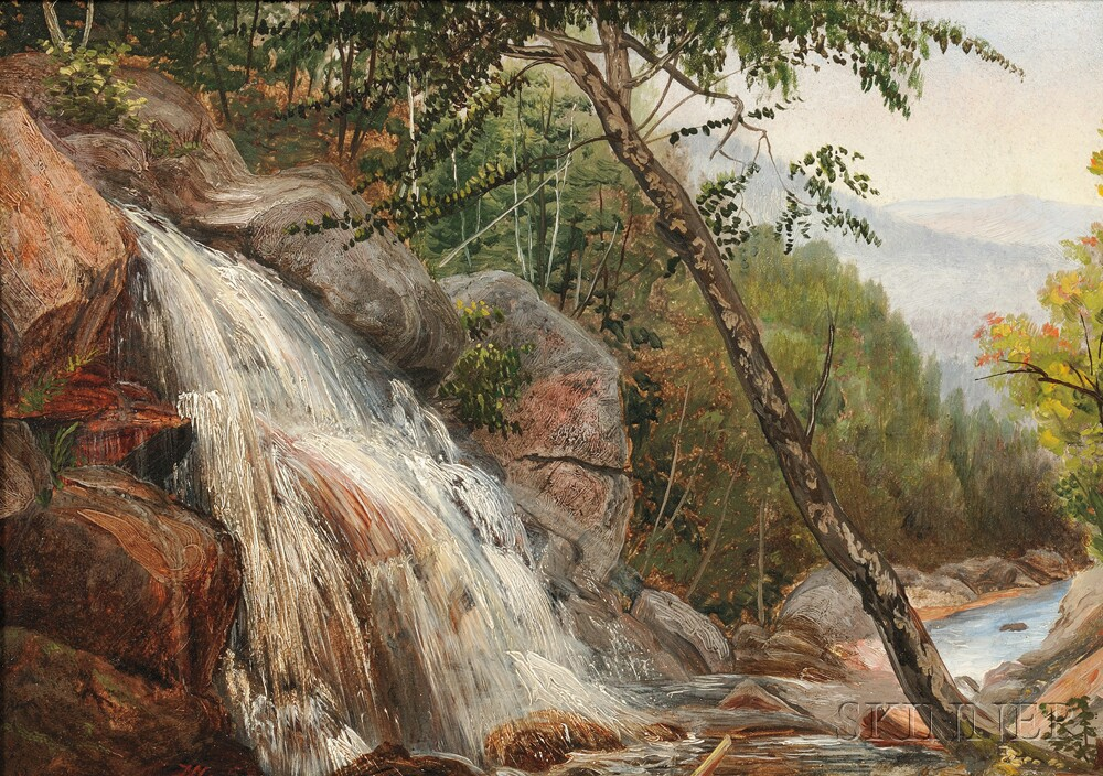 John Williamson (American, 1826-1885)      Crawford Landing, New York