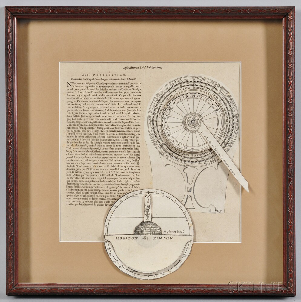 Framed and Printed Navigational Pages