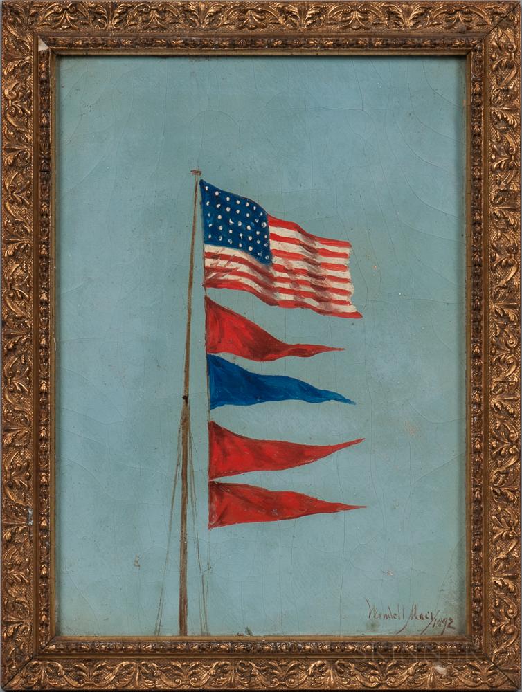 Wendell Macy (Massachusetts, 1845-1913)      Signal Flags