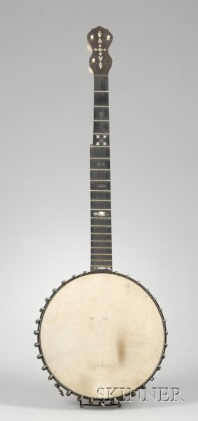 American  Five-String Banjo, Fairbanks & Cole, Boston, c. 1895