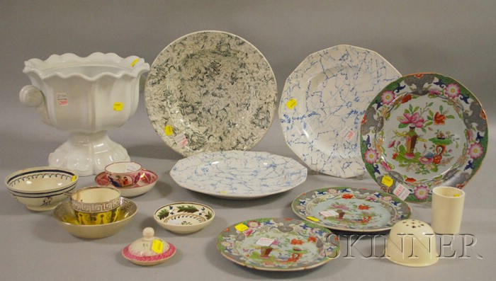 Sixteen Pieces of Assorted English Ceramic Tableware