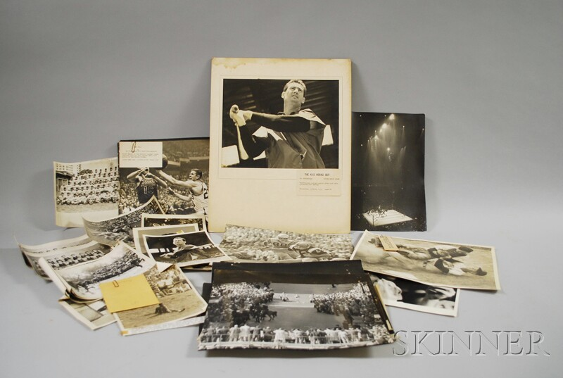 Large Lot of Original Photographs from the Archive of Edward Fitzgerald (d. 1977) United Press International, Associated Press, and Bos
