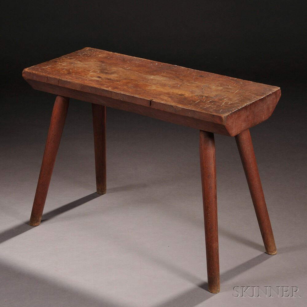 Shaker Maple and Ash Bench