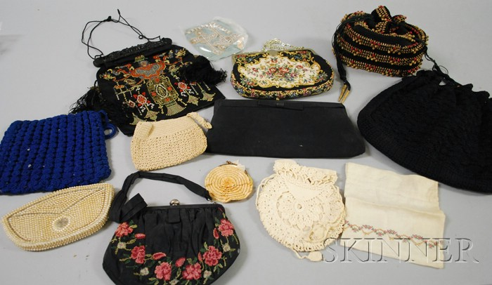 Approximately Eleven Assorted Purses