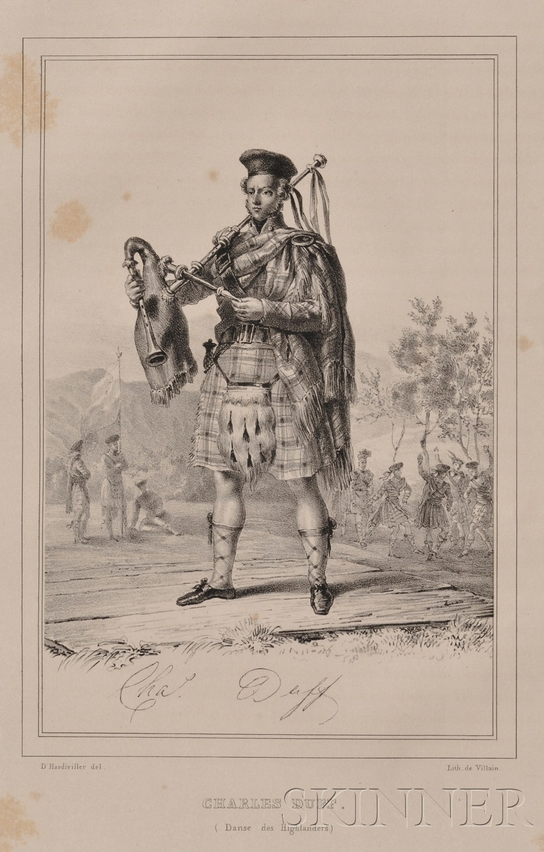 (Scotland), D'Hardiviller, Charles Achille