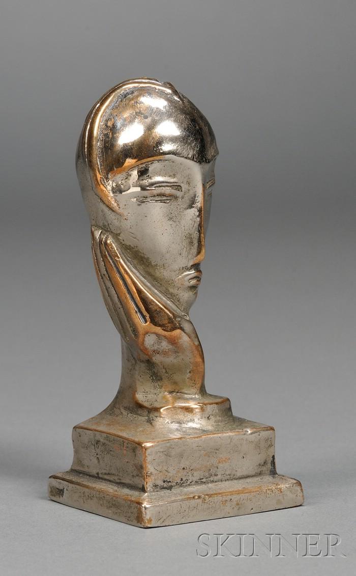 Erica Karawina (German/American, 1904-2003)      Head of a Woman