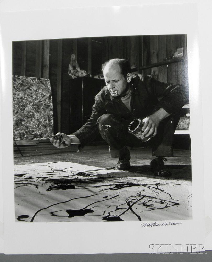 The Skinner Barn: Martha Holmes (American, 1923-2006) Jackson Pollock