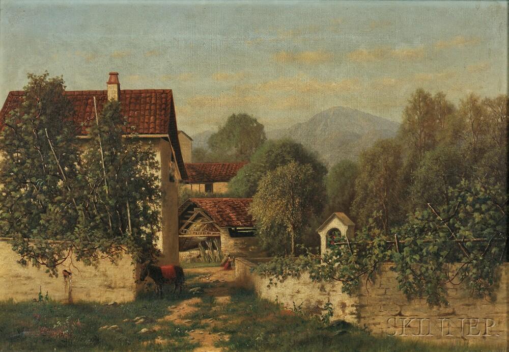 Clinton Ogilvie (American, 1838-1900)      The Burro