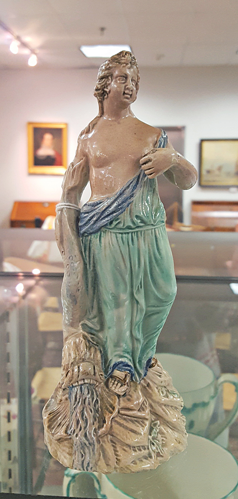 Pearlware Allegorical Figure of Venus