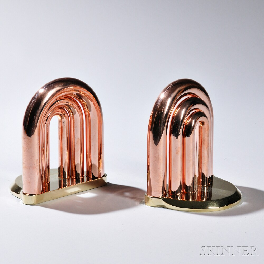 Pair of Art Deco-style Bookends