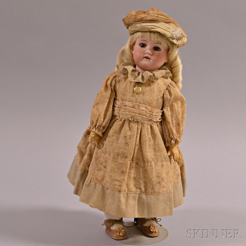 Armand Marseille Bisque Shoulder Head Doll