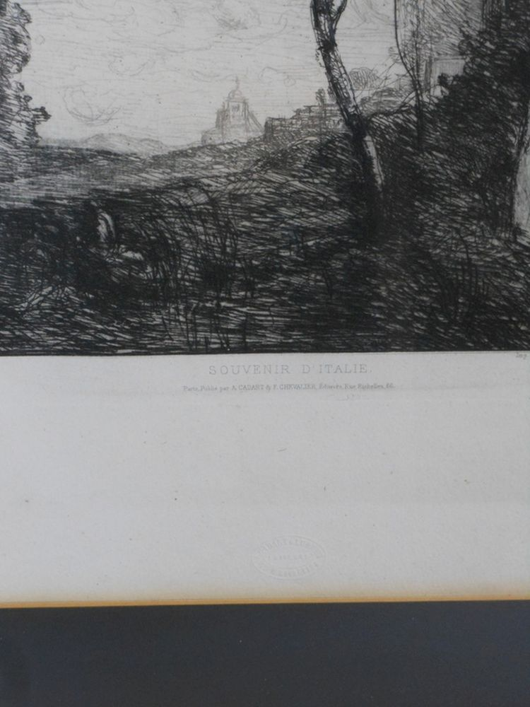 Jean-Baptiste-Camille Corot (French, 1796-1875)      Souvenir D'Italie