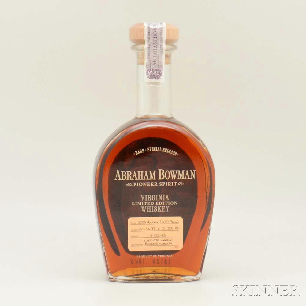 Abraham Bowman Last Millennium, 1 750ml bottle