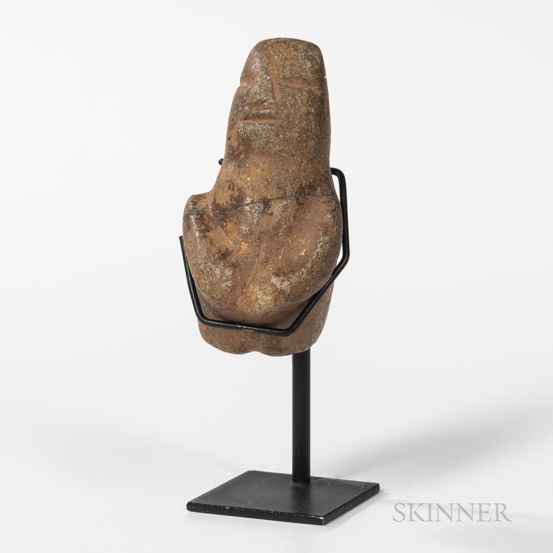 Stone Mezcala Figure
